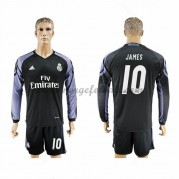 Billige Real Madrid 2016-17 Fotballdrakter James 10 Tredjedraktsett Langermet..