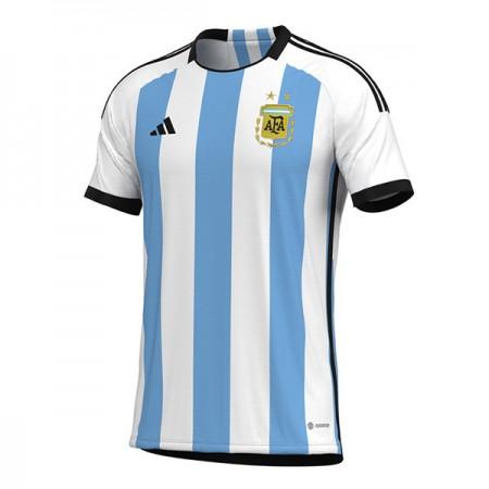 Billige Argentina VM 2018 Fotballdrakter Hjemmedraktsett Kortermet