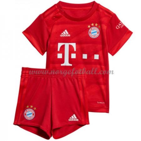 Bayern München Barn 2019-20 Draktsett Fotball Hjemmedrakter Kortermet