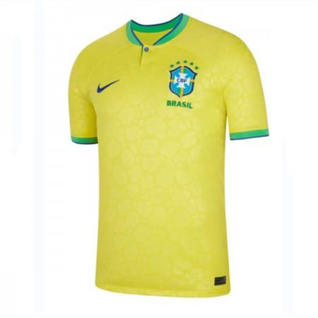 Billige Brasil VM 2018 Fotballdrakter Hjemmedraktsett Kortermet
