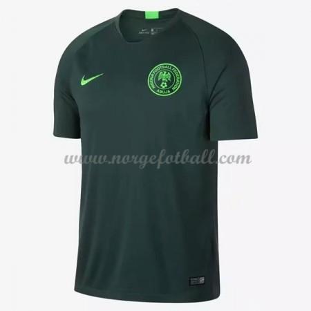 Billige Nigeria VM 2018 Fotballdrakter Bortedraktsett Kortermet