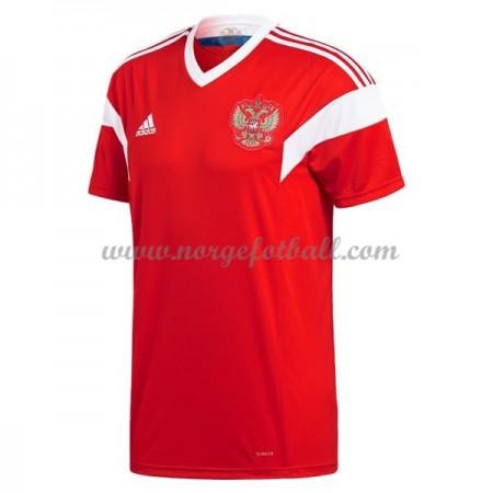 Billige Russland VM 2018 Fotballdrakter Hjemmedraktsett Kortermet
